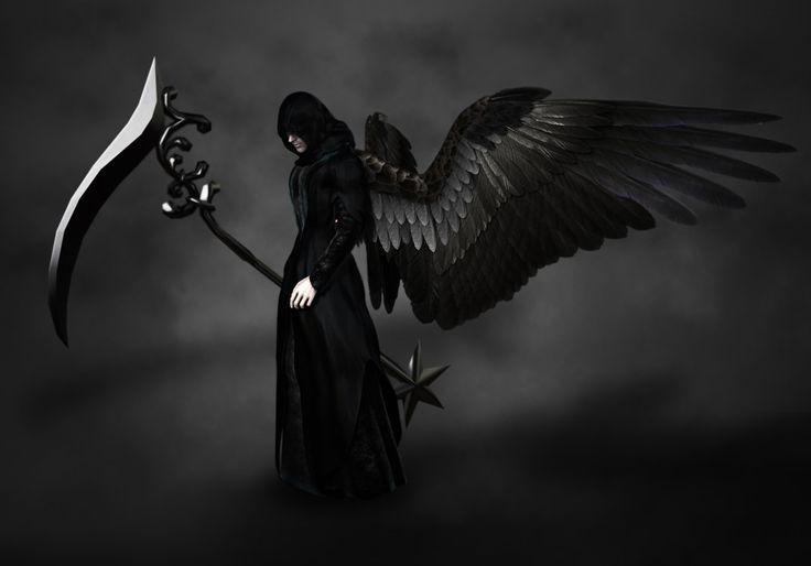 Картинка черные ангелы